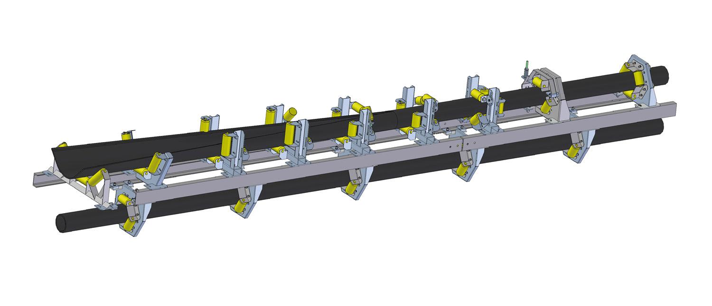 Ленточный трубчатый транспортёр (PDT)