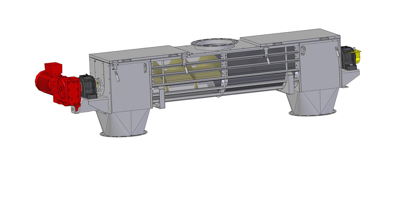 шнековый винтовой транспортёр (ZSG)