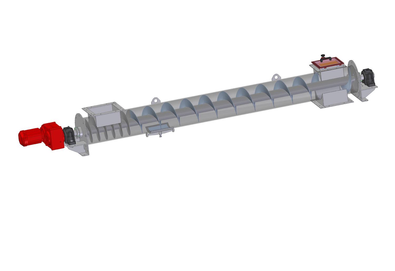Шнековый трубный транспортёр (TRSN)
